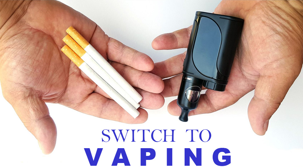 Switch from Cigarettes to Vaping