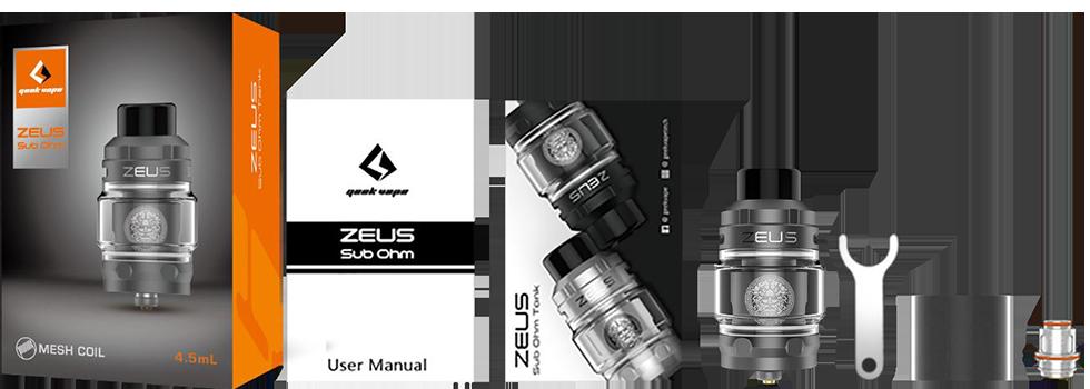 zeus sub-ohm tank kit