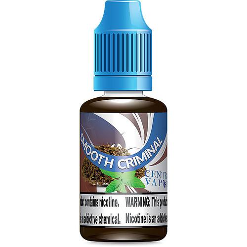 Smooth Criminal Menthol EJuice   Menthol Tobacco Eliquid Flavor