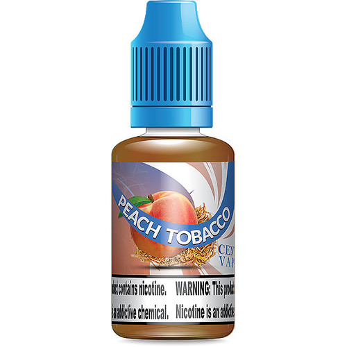 Peach Tobacco E Juice Vape Liquid