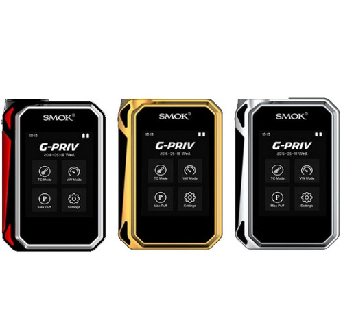 Smok G-Priv 220w Gold Red and Silver