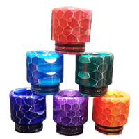 TFV8 TFV12 Resin Drip Tips | Honeycomb style Drip Tips