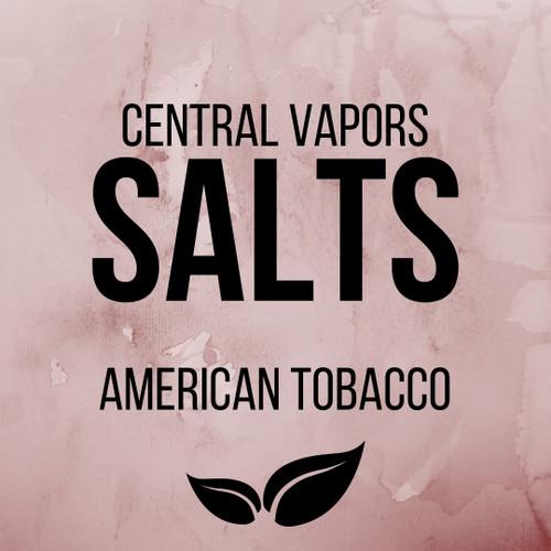 American Tobacco - Salt ejuice - Central vapors salts