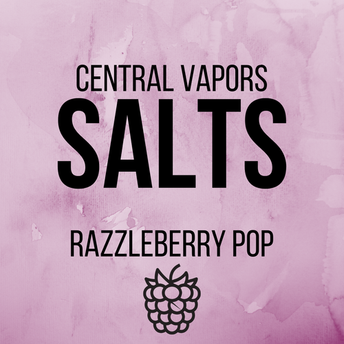 Razzleberry Pop - Salt ejuice - Central vapors salts