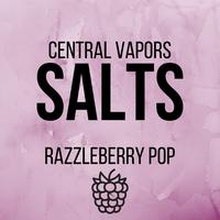 Razzleberry Pop - Salt ejuice - Central vapors salts