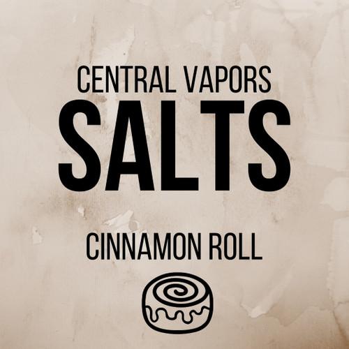 Cinnamon Roll - Salt ejuice - Central vapors salts