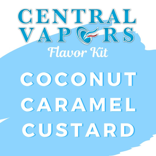Central Vapors DIY Ejuice Flavor Kit - Coconut Caramel Custard