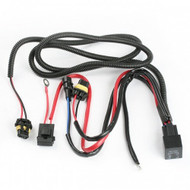 Equinox 9006 9005 Type HID Relay Wiring Harness for HID Kit Installation Xenon Battery