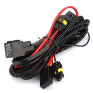 Equinox Xenon HID Conversion Relay Wiring Harness H7 w/ Plug Play Connector