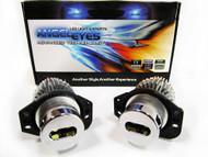 Equinox LED Angel Eye Lights for BMW E90 E91 325i 328i 335i Blue (4 Door Models Only)
