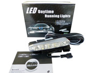 Pair of Equinox 5 CREE LED High Power 5W Daytime Running Lights DRL Fog