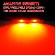 Equinox LED Underbody Rock Lights Ultra Bright (Red)