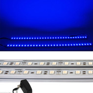 2 x 20-inch (100cm total) Equinox LED Light Strips & Power Supply (Blue)