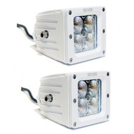 2 x Equinox 20W LED Light Fog Off Road Dually (White)