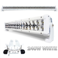Equinox 240W 42-inch LED Light Bar Spot Beam Flood Light (White)
