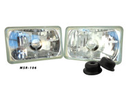 Pair of Equinox 4x6 Non-Sealed Headlights (H4651 H4652 H4656 H4666)