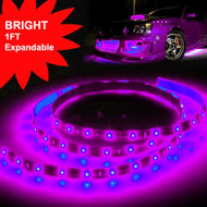 Equinox 1ft Flexible LED Strip Kit (Violet)