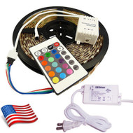 Equinox 10M 32FT Solid Strand RGB LED Strip for Limo Party Bus Kit