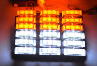 Equinox 54-LED Grille/Roof Emergency/Hazard/Warning Strobe Lights Kit (Amber/White)