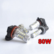 2 X H11 Equinox CREE 80W High Power Stage 4 LEDS for Fog Lights