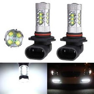 2 X 9005 HB3 Equinox CREE 80W High Power Stage 4 LED DRL Fog Lights