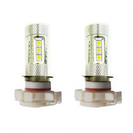 2 X H16 Equinox CREE 80W High Power Stage 4 LED Fog Lights
