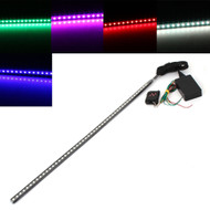 Equinox 56cm 7 Color 48 LED RGB Flash Strobe Lights Waterproof