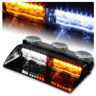 Equinox 16 LED Stage 4 Emergency/Warning Flash Strobe Light (White/Amber)