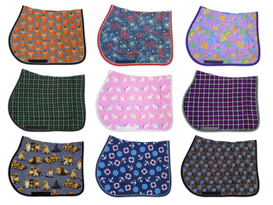 Wilker's Fun, Novelty, Holiday, and Plaid Saddle Pads