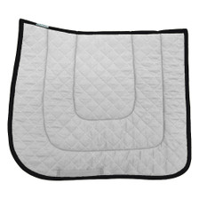 "Wilker's Style WC Dressage ""Winning Colors"" Saddle Pad Side View"