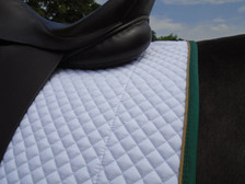 Wilker's Style 19BC Dressage Show Saddle Pad Back View