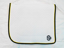 Wilker's Dressage 19BC Saddle Pad with Monogram