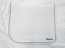 Wilker's Dressage 19BC Saddle Pad with Embroidery