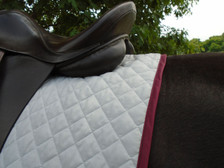 Wilker's Style 23 Dressage Baby Pad Back View
