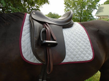 Wilker's Style 23 Dressage Baby Pad Front View