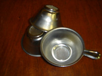 Aluminum w/ Wire Mesh Tea Leaf Strainer