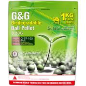 G&G Bio .20g BBs 1kg-White