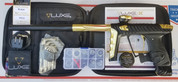 HK Army Luxe X Paintball Gun - Dust Black / Polished Gold