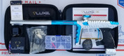 HK Army Luxe X Paintball Gun - Dust White / Polished Teal
