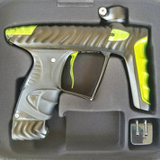 HK Army Luxe X Paintball Gun - Dust Black / Polished Lime