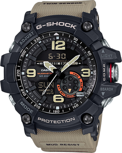 G-Shock Mudmaster Twin Sensor Tan/Green GG1000-1A5