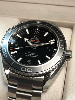 OMEGA SEAMASTER PLANET OCEAN 600M CO-AXIAL 45.5 MM 232.30.46.21.01.001 FRONT VIEW 2