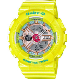 Casio G-SHOCK Yellow BA110CA-9A