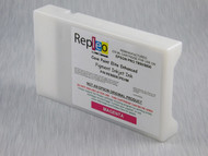 Repleo Recycled 220 ml Cartridge for the Epson Pro 7800/9800 filled with Cave Paint Elite Enhanced pigment ink - Magenta