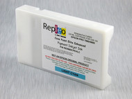 Repleo Recycled 220 ml Cartridge for the Epson Pro 7880/9880 filled with Cave Paint Elite Enhanced pigment ink - Light Cyan
