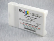 Repleo Recycled 220 ml Cartridge for the Epson Pro 7880/9880 filled with Cave Paint Elite Enhanced pigment ink - Light Light Black