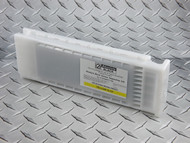 Epson SureColor T3000, T3270, T5000, T5270, T5270D, T7000, T7270, T7270D 700 ml Cartridge filled with Absolute Black T Series Screen Separation Ink - Yellow slot