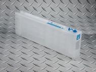 Epson SureColor T3000, T3270, T5000, T5270, T5270D, T7000, T7270, T7270D 700 ml empty refillable cartridge - Cyan
