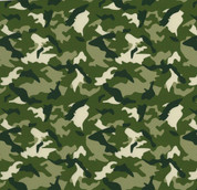"""Green Camo Thermoflex Fashion Patterns 12"""" x 12"""" Sheets (Click for Quantities)"""