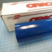 Blue Oracal 751 Sign Vinyl (click for lengths & width)